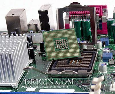 Процессор и место его установки Socket